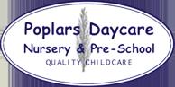 Poplars Nursery Logo